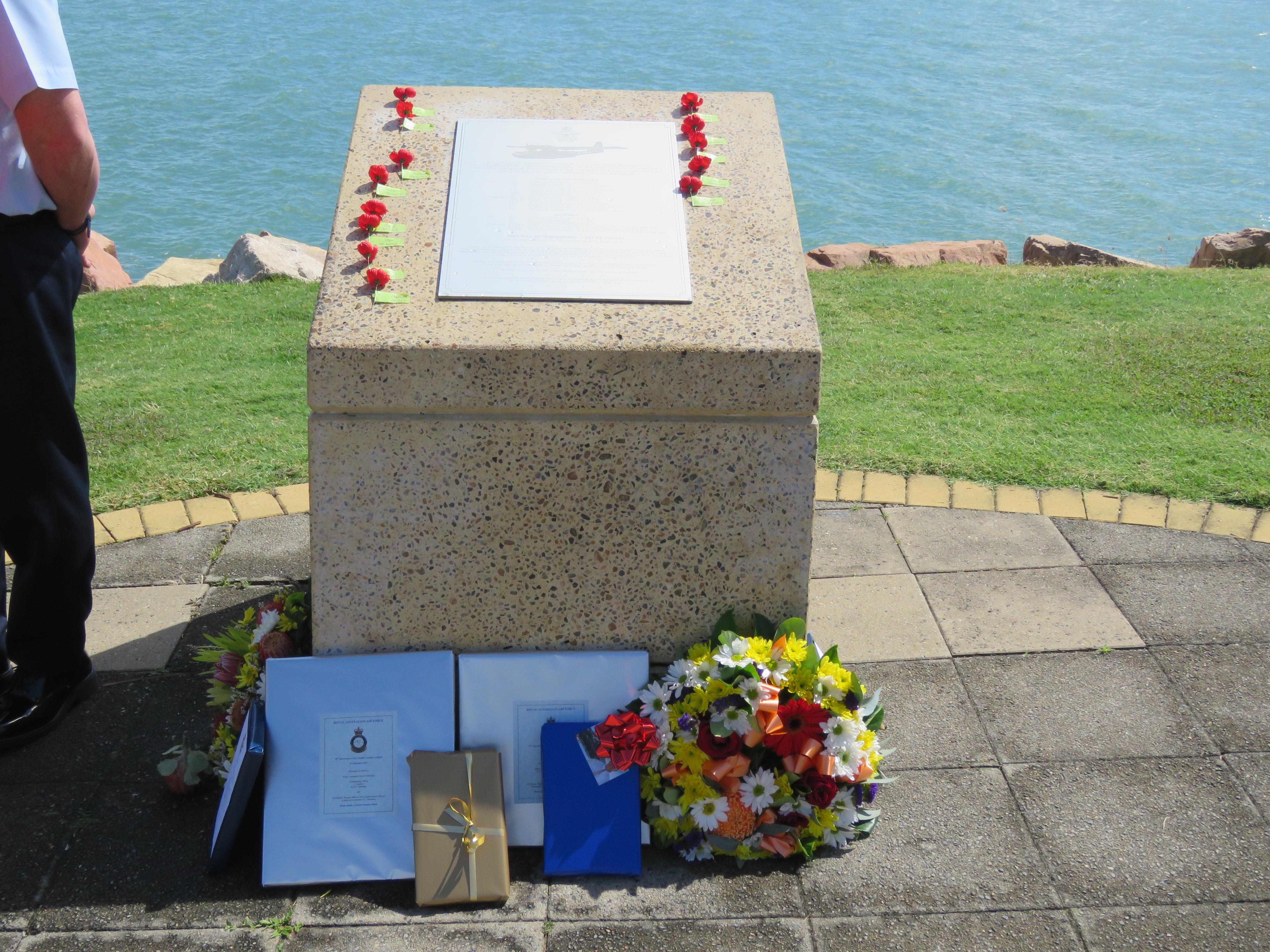 Memorial for Catalina A24-52 at kissing Point.JPG